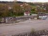 Ströms sluss ligger numera väl exponerad, sedan man rivit Inlands kartongfabrik.