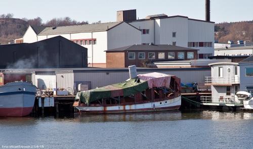 """""""Rånnum"""", en bogserbåt som en gång för väldigt länge sedan tillhörde Wargöns AB."""