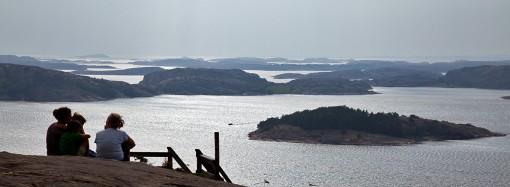 Utsikt från Vetteberget i Fjällbacka