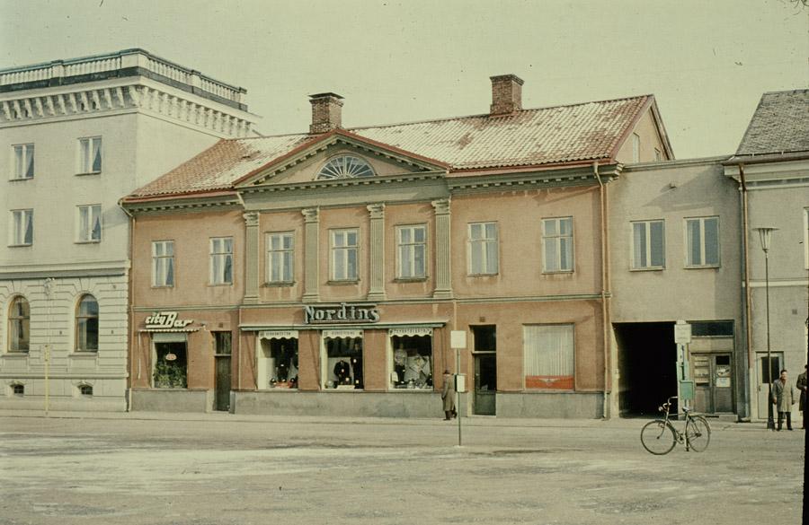 Nyströmska huset strax innan rivningen för EPA. Foto: Karl-Fredrik Nyström