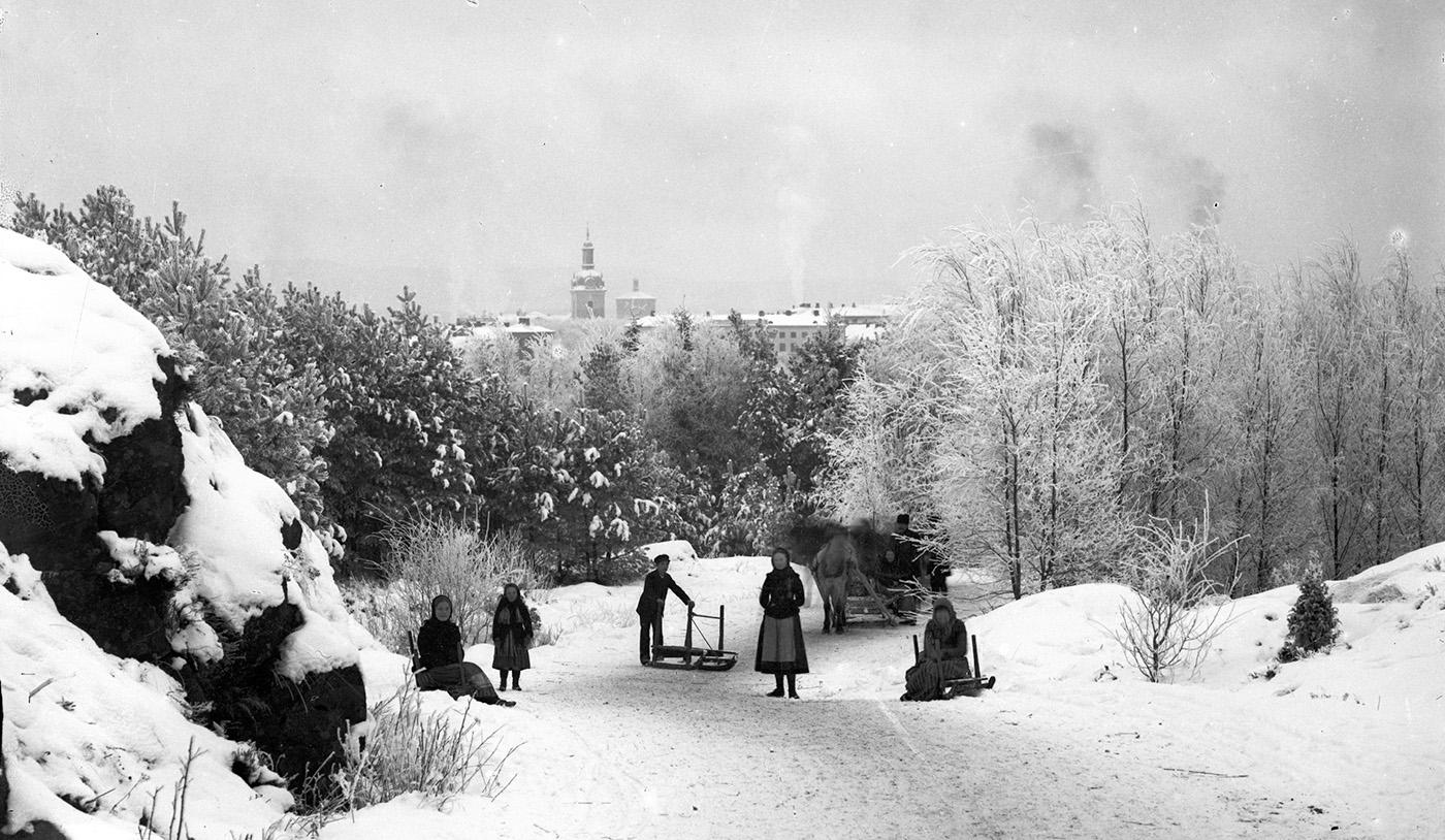 Foto: K & A Vikner omkring 1900 / ur Vänersborgs museums samlingar