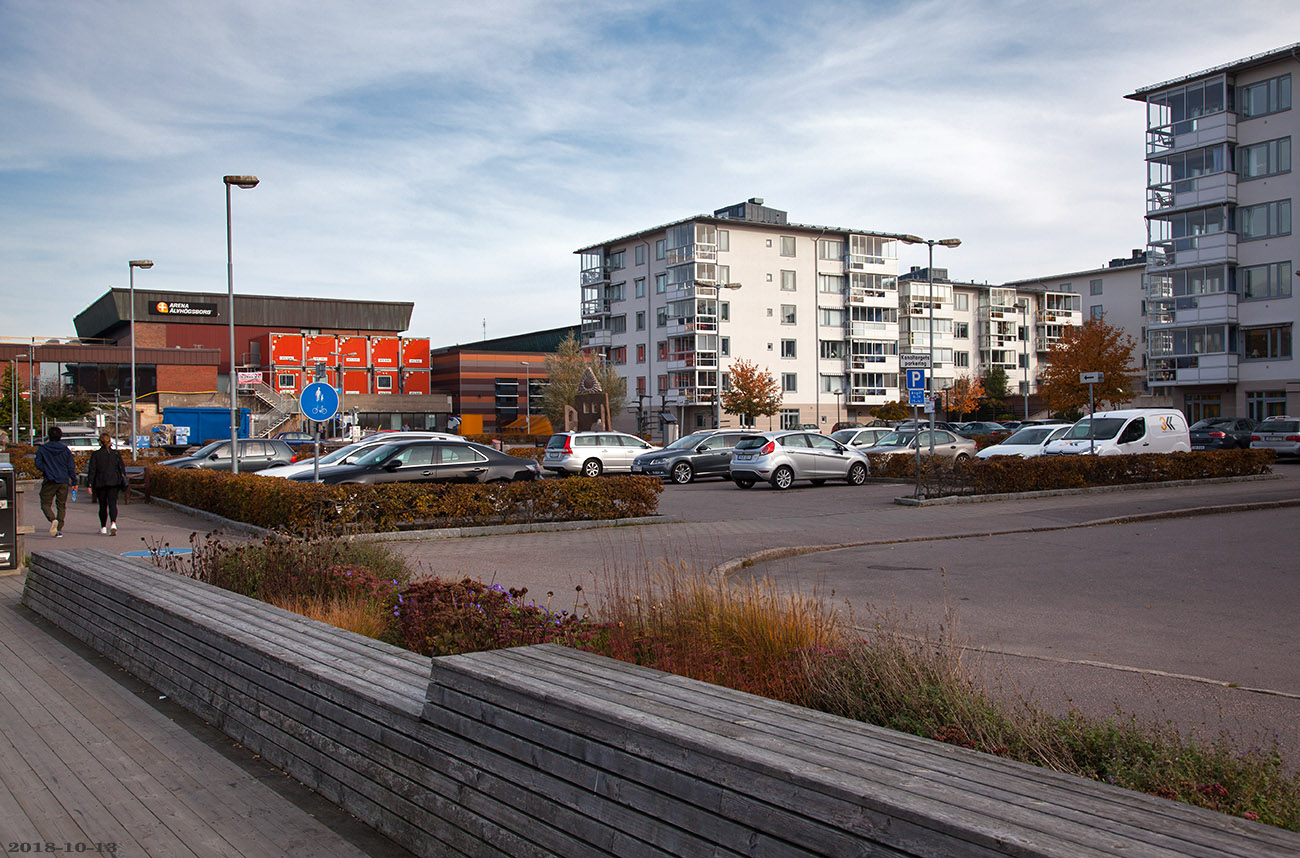 Kanaltorget, Trollhättan 2018-10-13