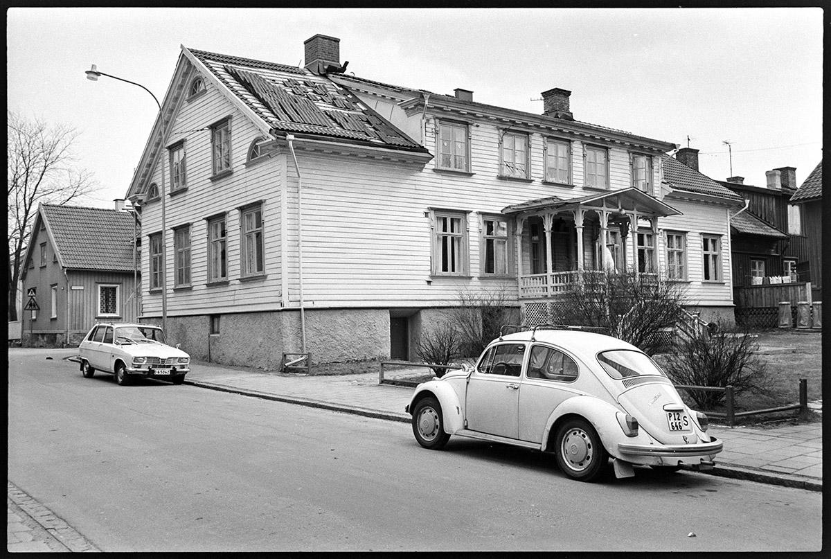 Nygatan 9. Foto: 1972 Vänersborgs museum (B00645-079-19)
