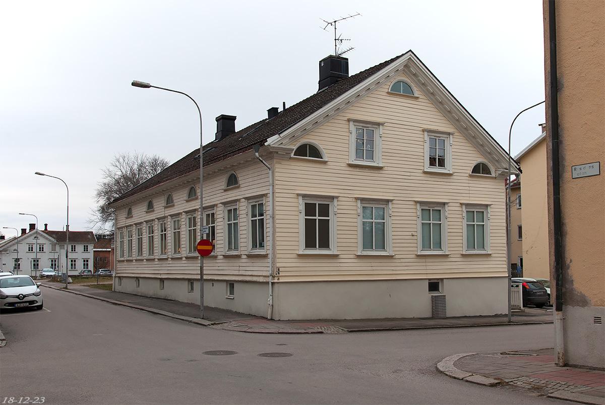 Korsningen Residengatan - Nygatan. Foto: 18-12-23 Micael Ericsson