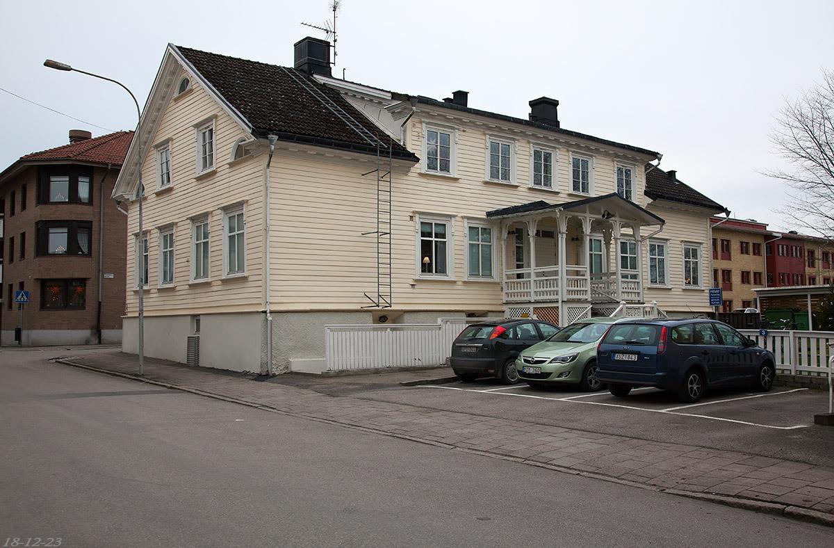 Nygatan 9. Foto: 18-12-23 Micael Ericsson